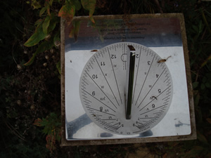 the hundredth birthday commemorative sundial