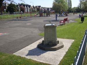 The sundial provides a unique educational experience for users of the playground